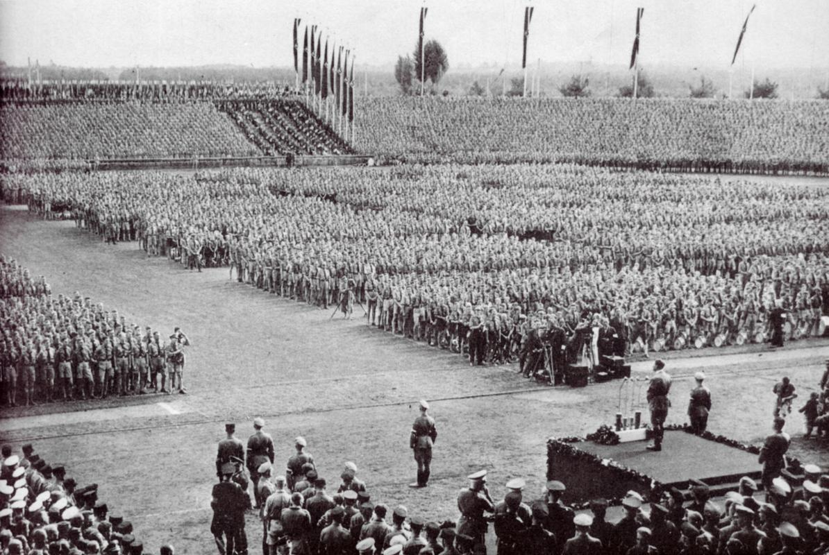 Discursos memorables de Adolf Hitler.